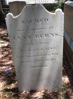 Jane <i>Smith</i> Burns