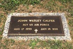 John W. Wes Calfee