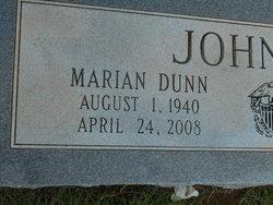 Marian <i>Dunn</i> Johnson