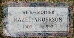Hazel <i>Smith</i> Anderson
