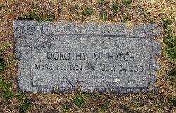 Dorothy May Dot <i>Chahon</i> Hatch