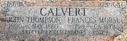 Frances Fannie <i>Morse</i> Calvert