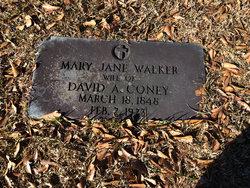 Mary Jane <i>Walker</i> Coney