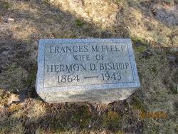 Frances M <i>Fleet</i> Bishop
