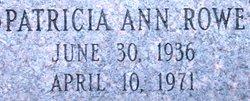 Patricia Ann Rowe
