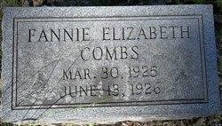 Fannie Elizabeth Combs