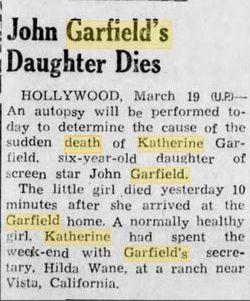 Katherine Hannah Garfield