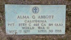 Alma Glenn <i>Berg</i> Abbott