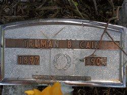 Truman G Cain