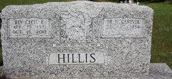 Rev Cecil Eugene Hillis