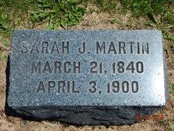 Sarah Jane <i>Wilson</i> Martin