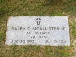 Ralph C McAllister, III