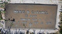 Orris D Carroll