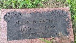 Henrietta E <i>White</i> Zachry