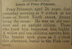 Peter Primmer