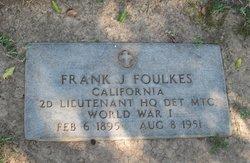 Frank James Foulkes