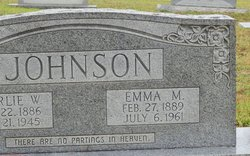 Emma <i>Massengill</i> Johnson
