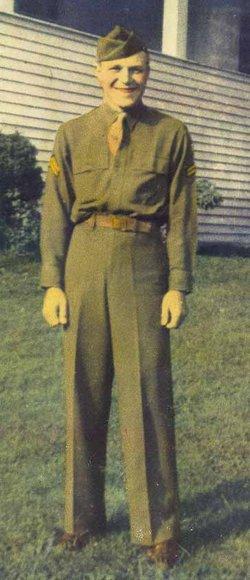 Sgt Rex Vernon Gray