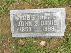 Margaret A. Maggie <i>Isgrigg</i> Davis