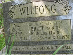 Brett Gilbert Wilfong