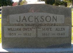 Maye <i>Allen</i> Jackson