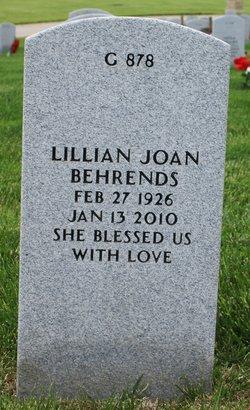 Lillian Joan Behrends