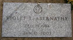 Violet R. <i>Rutledge</i> Abernathy