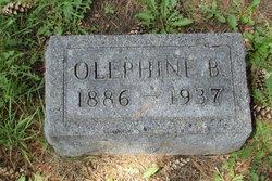 Olephine B <i>Gunderson</i> Alm