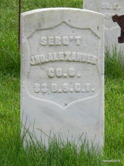 Sgt John Alexander