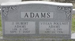 Vivian <i>Poulnot</i> Adams