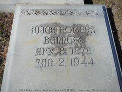 Alice <i>Rogers</i> Bennett