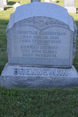 Hannah <i>Plank</i> Brenneman