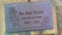 Mary <i>Anderson</i> Walrod