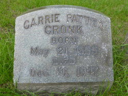 Carrie <i>Patten</i> Cronk