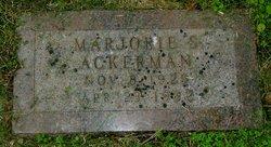 Marjorie S Ackerman