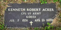 Corp Kenneth Robert Acker
