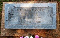 Mary Marie <i>Wagster</i> Hanna