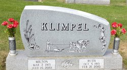 Ruth M. <i>Thorson</i> Klimpel