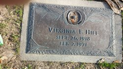 Virginia Elizabeth <i>Rogillio</i> Hill