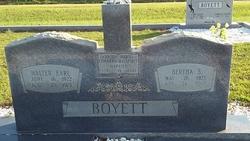 Walter Earl Boyett