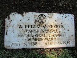 William M Pepper