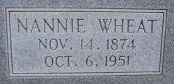Nannie <i>Wheat</i> Finnell