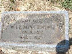Infant Brown