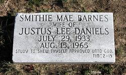 Smithie Mae <i>Barnes</i> Daniels