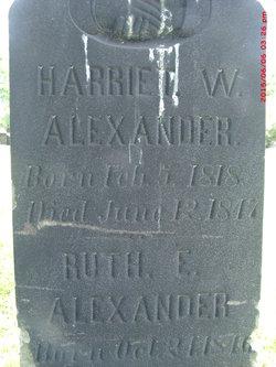 Harriet W. Alexander