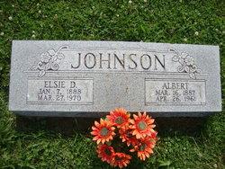 Elsie D <i>Roberts</i> Johnson