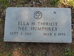 Ella <i>Humphrey</i> Thiriot