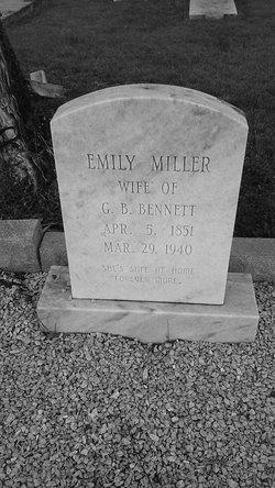 Emma Lee <i>Miller</i> Bennett