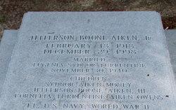 Jefferson Boone Aiken, Jr