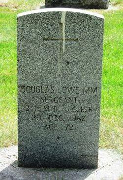 Sgt Douglas Lowe